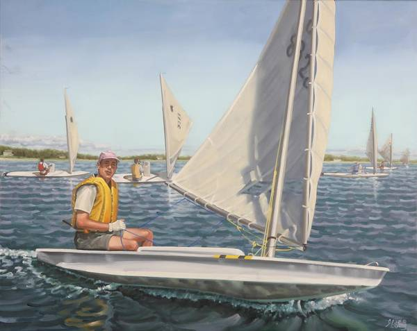 Painting - Sailing Portrait by Gary M Long