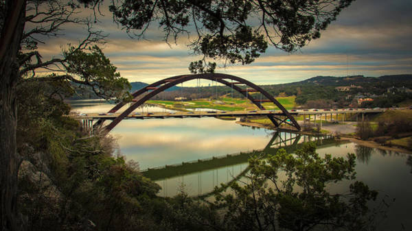 Photograph - 360 Bridge by Jay Anne Boza