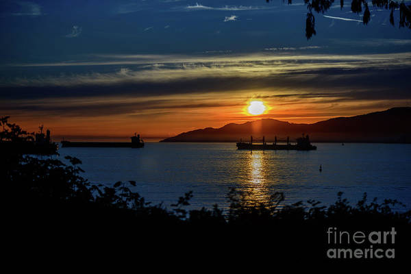 Evening Wall Art - Photograph - Sunset Over The Mountains 3 by Viktor Birkus