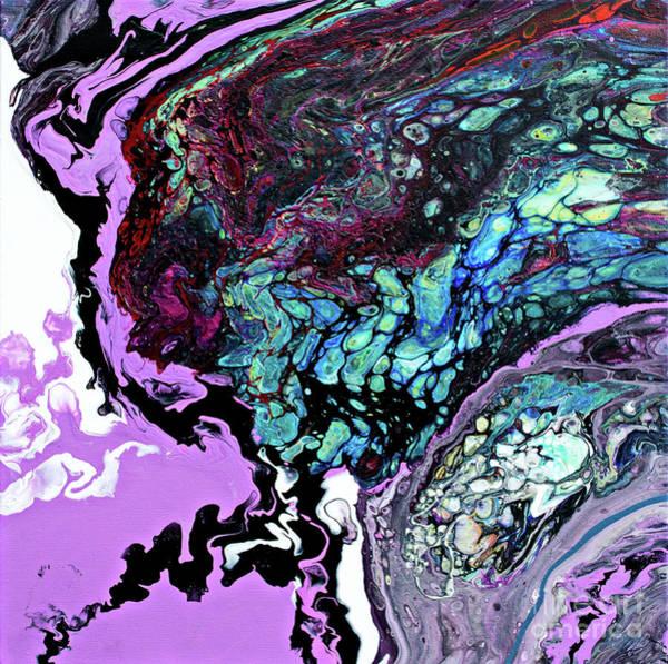Dominate Painting - #378 by Expressionistart studio Priscilla Batzell