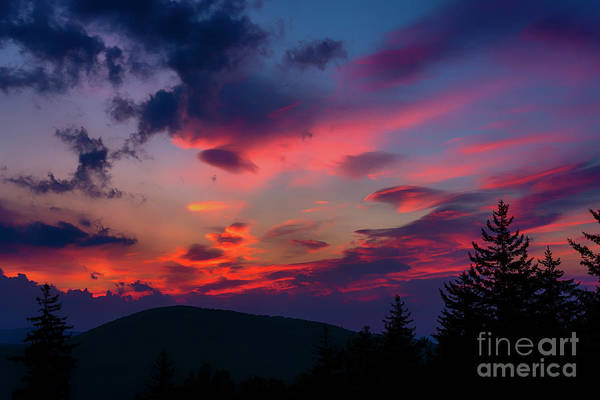 Highland Scenic Highway Wall Art - Photograph - Allegheny Mountain Sunrise #23 by Thomas R Fletcher