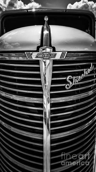 Photograph - 38 Chevy Truck Grill by Bitter Buffalo Photography