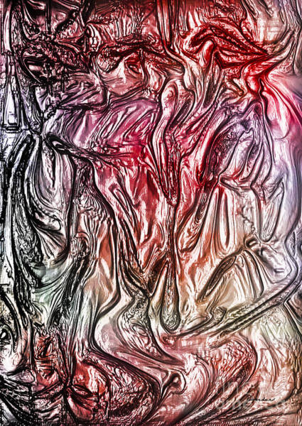 Painting - 38a Abstract Painting Digital Expressionism by Ricardos Creations