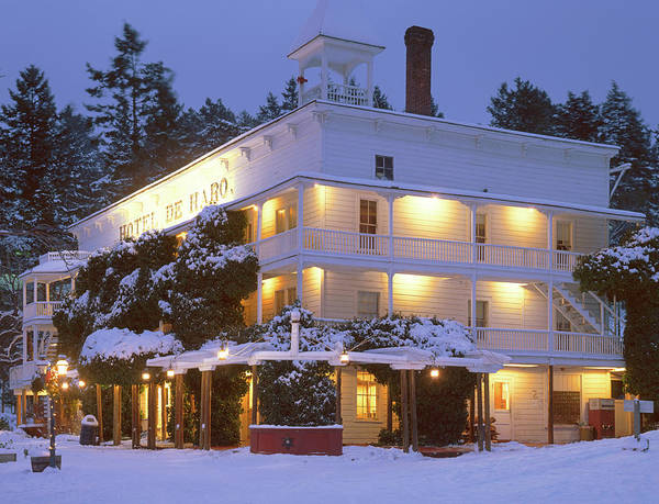 Photograph - 3a4303 Historic Hotel De Haro by Ed Cooper Photography
