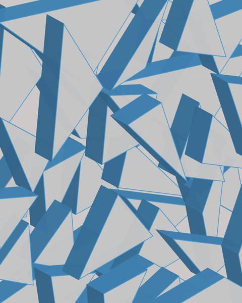 Wall Art - Digital Art - 3d Broken Glass by Amir Faysal
