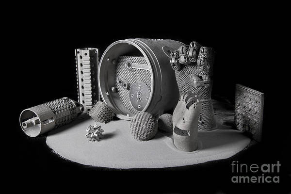 Oak Ridge National Laboratory Photograph - 3d Printing, Additive Manufacturing by Science Source