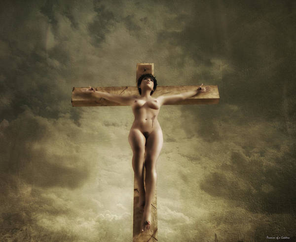 Christ crucified nude 7