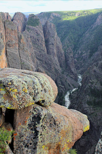 Photograph - 3d10306 Narrows View On North Rim by Ed Cooper Photography