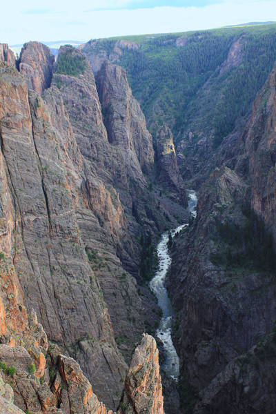 Photograph - 3d10307 Narrows View On North Rim  by Ed Cooper Photography