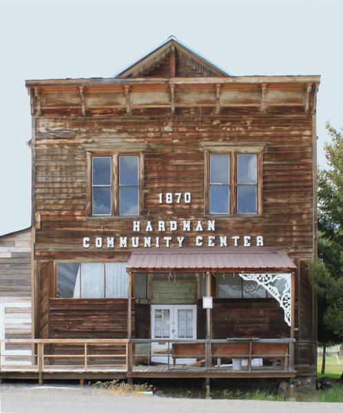 Photograph - 3d5780 Hardman Cummunity Center 1870 by Ed Cooper Photography
