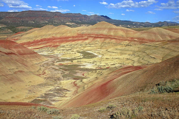 Photograph - 3da5749 Painted Hills John Day Fossil Beds Nat Mon by Ed Cooper Photography