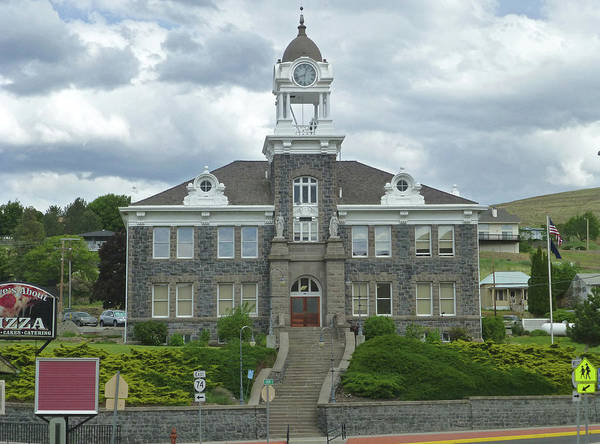 Photograph - 3da5787-dc Morrow Co Courthouse by Ed Cooper Photography