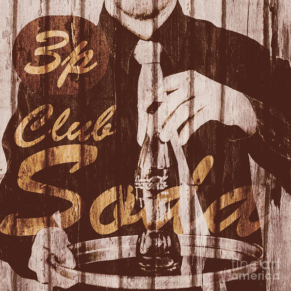 1960 Wall Art - Photograph - 3p Club Soda by Jorgo Photography - Wall Art Gallery