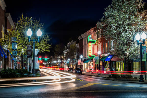 Storefront Photograph - Franklin, Tennessee - 3rd And Main by David Tutterrow