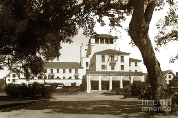 Photograph - 3rd Hotel Del Monte Circa 1929 by California Views Archives Mr Pat Hathaway Archives
