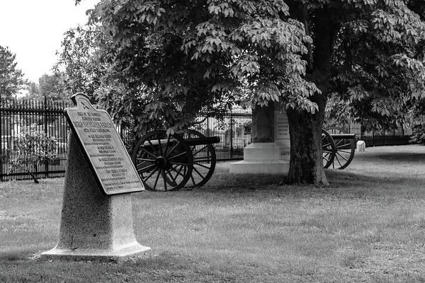 Artillery Brigade Photograph - 3rd Reserve Artillery Brigade by William Rogers