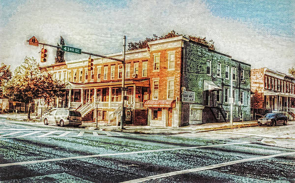 Photograph - 43rd Street And York Road by Reynaldo Williams