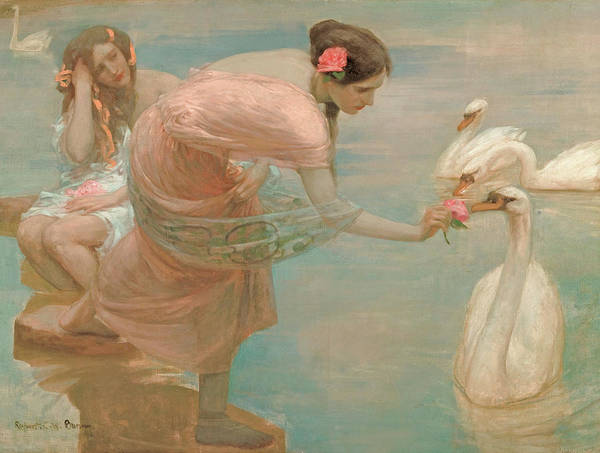 Painting - A Summer Morning by Rupert Bunny