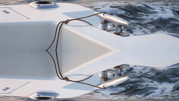 Photograph - Abstract Boat Cleat by Susan Jensen