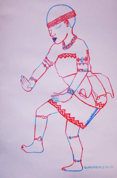 Adowa Dance Ghana Art Print