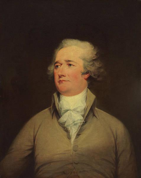 Painting - Alexander Hamilton by John Trumbull