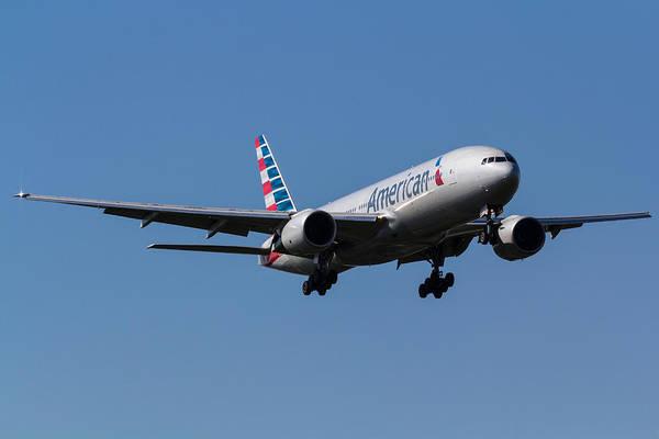 Wall Art - Photograph - American Airlines Boeing 777 by David Pyatt