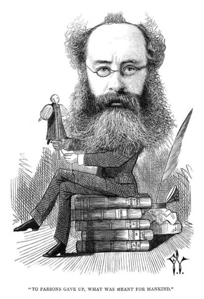 Parody Photograph - Anthony Trollope by Granger