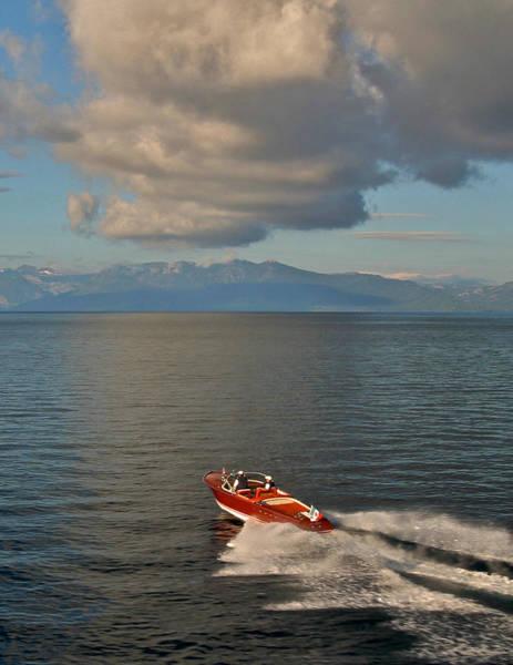 Photograph - Aqua-rama Lake Tahoe by Steven Lapkin