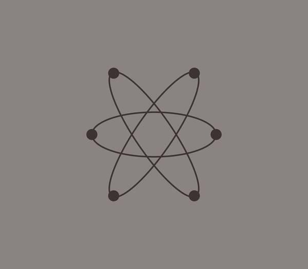 Illustration Digital Art - Atom by Marco Livolsi
