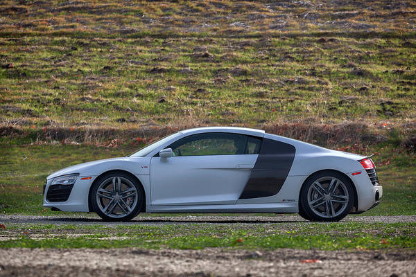 Photograph - #audi #r8 #v10 #print by ItzKirb Photography