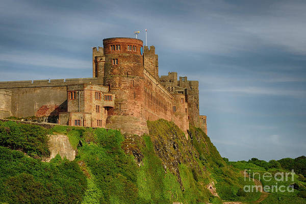 Castle Photograph - Bamburgh Castle by Smart Aviation