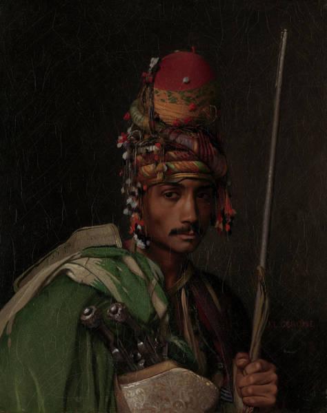 Irregular Painting - Bashi-bazouk by Jean-Leon Gerome