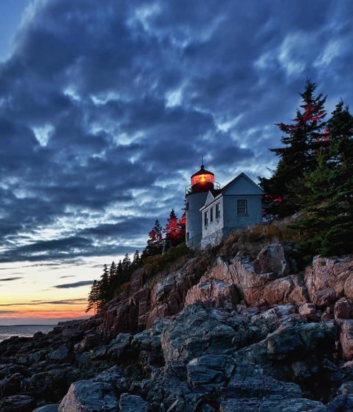 John I Photograph - Bass Harbor Lighthouse by John Greim