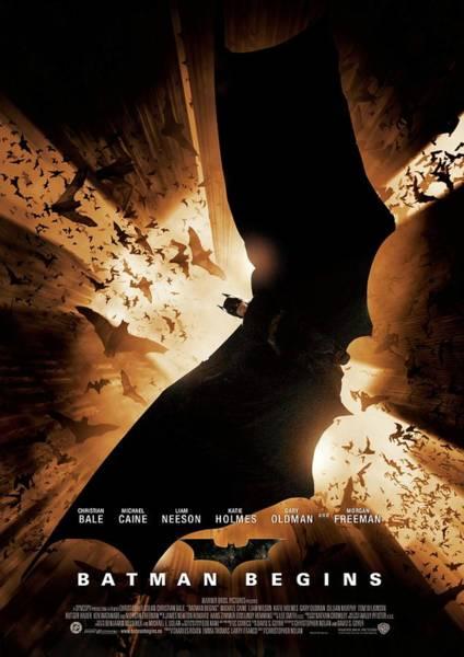 Supervillain Digital Art - Batman Begins 2005 by Geek N Rock