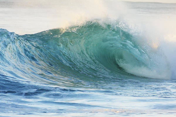 Wall Art - Photograph - Beautiful Wave Breaking by Vince Cavataio - Printscapes