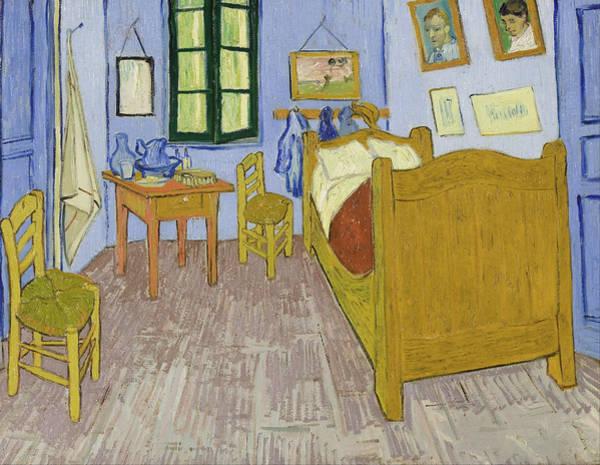 Wall Art - Painting - Bedroom In Arles by Vincent van Gogh