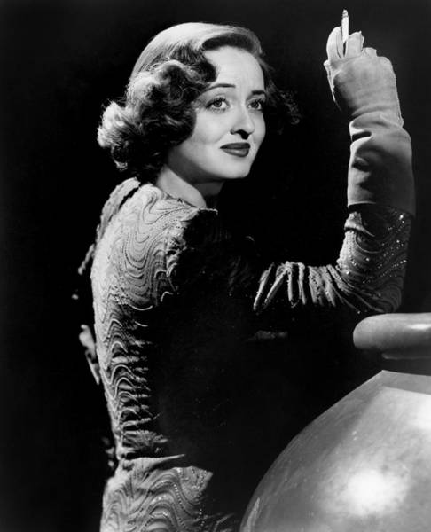 Photograph - Bette Davis (1908-1989) by Granger