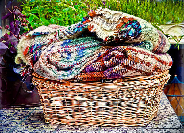 Comfort Photograph - Blankets by Tom Gowanlock