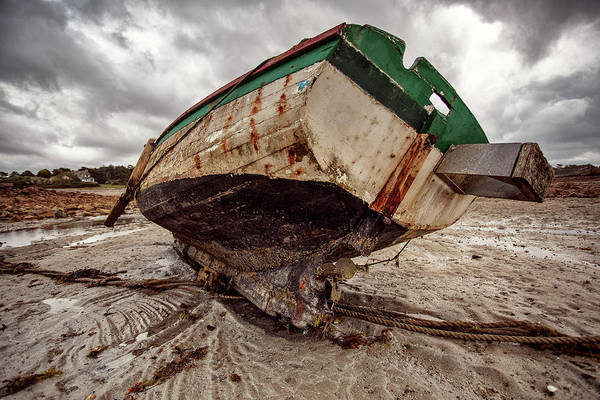 Decay Wall Art - Photograph - Boats By The Sea by Nailia Schwarz