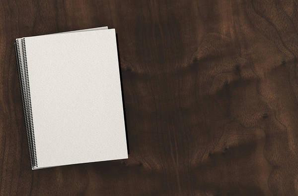 Wall Art - Digital Art - Bound Booklet Pile by Allan Swart