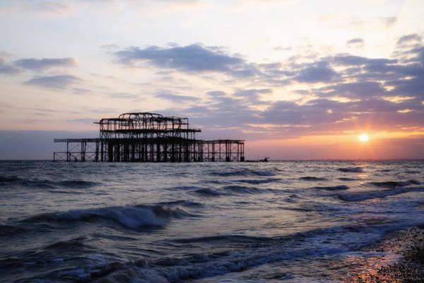 Brighton Pier Photograph - Brighton by Joana Kruse