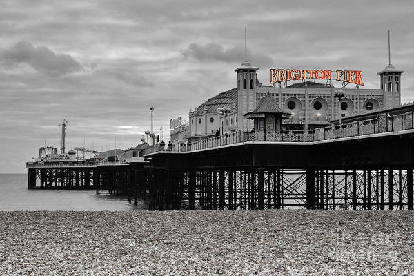 East Photograph - Brighton Pier by Smart Aviation