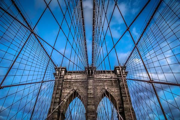 Wall Art - Photograph - Brooklyn Bridge by June Marie Sobrito