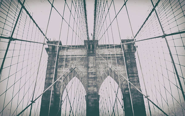 Lower Manhattan Photograph - Brooklyn Bridge by Martin Newman