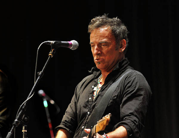 New Jersey Photograph - Bruce Springsteen by Jeff Ross