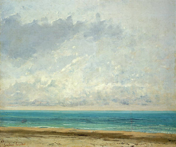 Painting - Calm Sea by Gustave Courbet