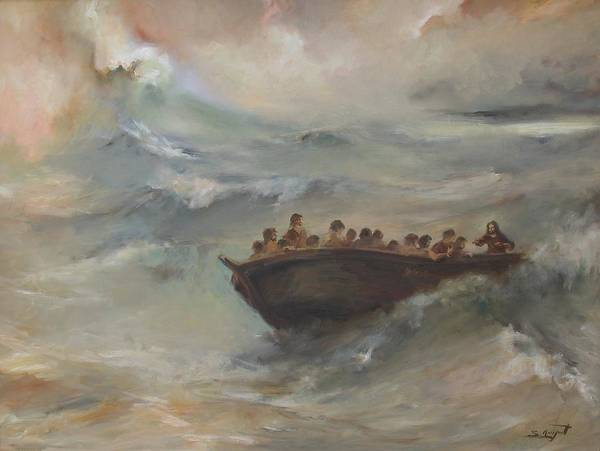 Painting - Calming The Storm by Tigran Ghulyan