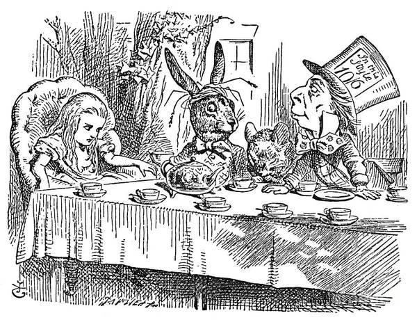 Alice In Wonderland Photograph - Carroll: Alice, 1865 by Granger