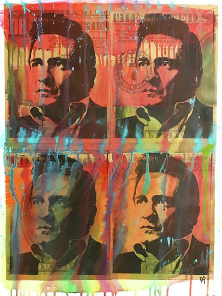 Wall Art - Painting - 4 Cash II by Dean Russo Art