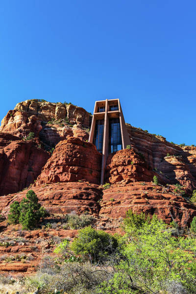Wall Art - Photograph - Chapel Of The Holy Cross - Sedona Arizona by Jon Berghoff